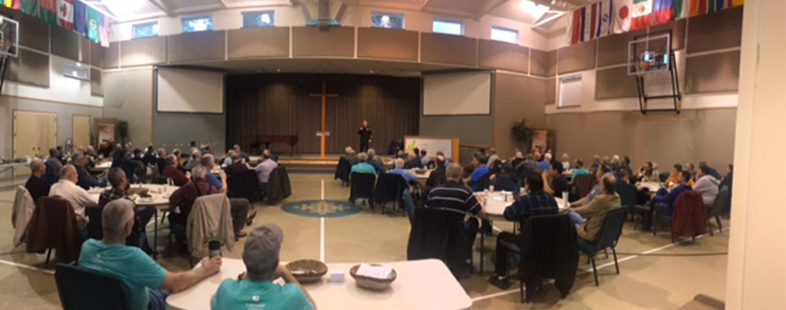 Chief Ronnie Roberts Speaks at Grace Community Covenant Men's Breakfast