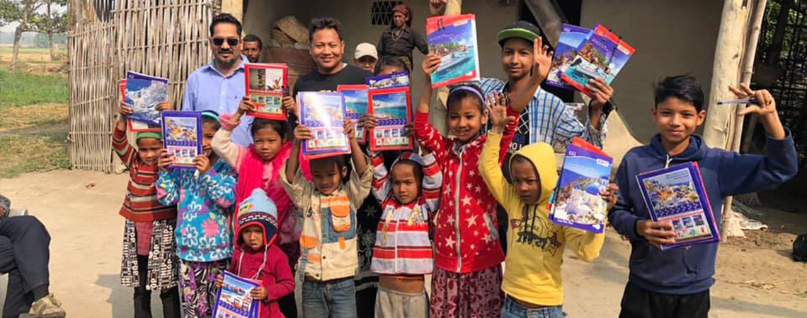 Napali Covenant Church Supporting Children in Napal