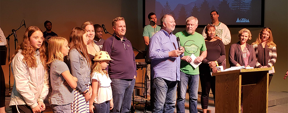 Rob Mohrweis Installed as the Executive Director of Cascades Camp and Conference Center